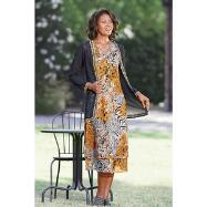 Lively Layers Dress and Duster Set by EY Signature