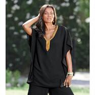 Flowy Mix 'n' Match Tunic by EY Signature