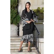 Fanciful Dress and Jacket Set by EY Signature