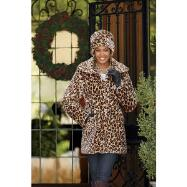 Leopardess 3/4 Coat by EY Studio