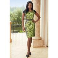 Curvaceous Dress by EY Boutique