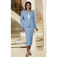 Extra Texture 3-Pc. Suit by Terramina
