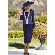 S'il Vous Pleats 3-Pc. Suit by Verucci by Chancelle