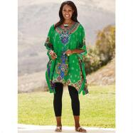 Microfiber Tunic Caftan by Studio EY