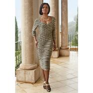 Flattering Lines Dress by Lisa Rene™