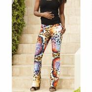 Printastic Pants by Luxe Moda by Donna Vinci