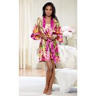 Tropical Dream Chemise and Robe Set by Studio EY