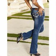 Skinny Curvy Bootcut Jeans by Ariya Jeans