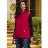 Quilted Vest by Studio EY