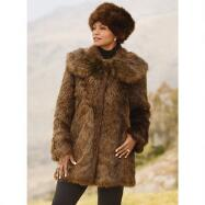 Think Mink 2 Jacket and Hat Set by Lisa Rene