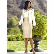 In Symmetry Dress and Jacket by EY Signature