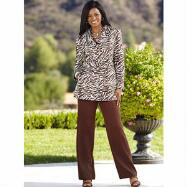 Viva Zebra Pants Suit by EY Signature