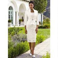 Crystalle Dress and Jacket by EY Signature