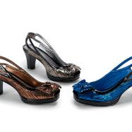 Wild Style Peep-toe Slingbacks by EY Couture