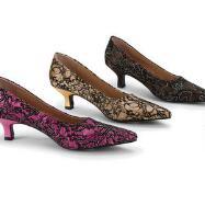Princess Lace Pumps by EY Couture
