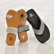 Jeweled Sandals by Corky's