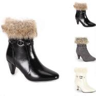 Furry Nice Booties by EY Boutique