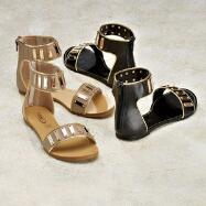 Gladiator Sandals by YOKI