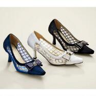 Lattice 'n' Bows Pumps by John Fashion™