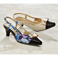 Tip Toe Slingbacks by EY COUTURE