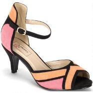 Colorblock Peep-toes by EY COUTURE