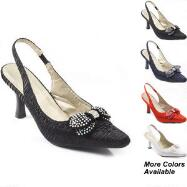 Social Butterfly Slingbacks by EY COUTURE