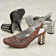 Bejeweled Slingbacks by John Fashion