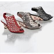 Openwork Slingbacks by JOHN FASHION