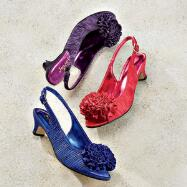Rosy Toes Slingbacks by JEWELS
