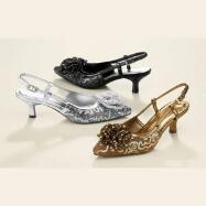 Triple Shine Slingbacks by Nicola