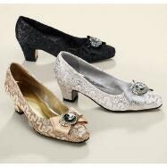 Cool Jeweled Pumps by EY Boutique