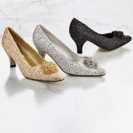 Beads in Bloom Pumps by EY Boutique