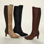 Sueded Stretch Boots by EY Boutique