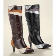 Tri-Tone Boots by EY Boutique