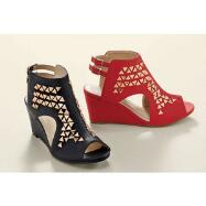 In Vogue Wedge Slingbacks by EY Boutique