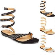 Slinky Sandals by GCNY