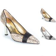 Glitterati D'Orsay Pumps by EY Boutique