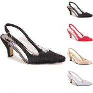 Stars Illusion Slingbacks by EY Boutique