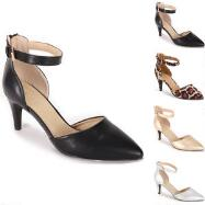 Ankle-Strap Pumps by EY Boutique