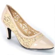 Venetian Lace Pumps by EY Boutique