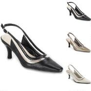 Croc Illusion Slingbacks by EY Boutique
