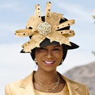 Plaza Suite Church Hat by Tally Taylor