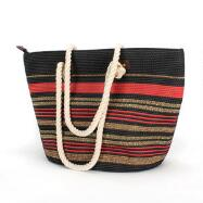 Striped Beach Tote by Lily & Taylor