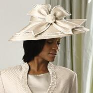 Champagne Dreams Church Hat by Luxe EY