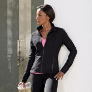 Activewear Knit Jacket by 90 Degrees