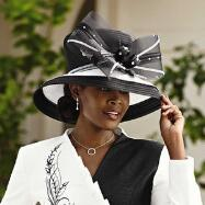Fashion First Church Hat by EY Signature