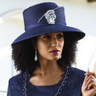 Nouveau Chic Church Hat by Tally Taylor