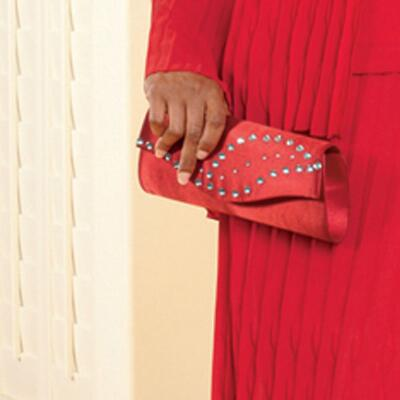 Pleasing Pleats Handbag by Tally Taylor
