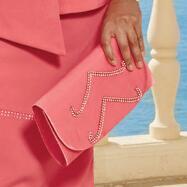 Rhinestone Rows 2 Handbag by Lisa Rene™