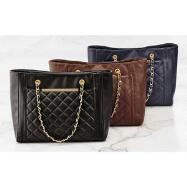 Chain-Handle Tote by EY Boutique